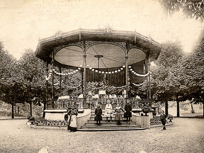 Le kiosque de Cambrai